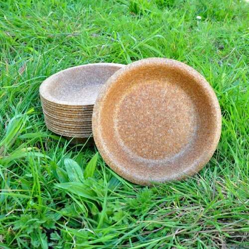 bowl redondo ecologico descartable biodegradable sustentable