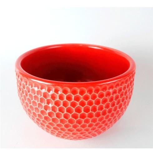 bowls cerámica artesanal - bowl artesanal rojo