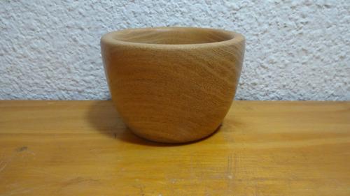 bowls de 10 cm en algarrobo