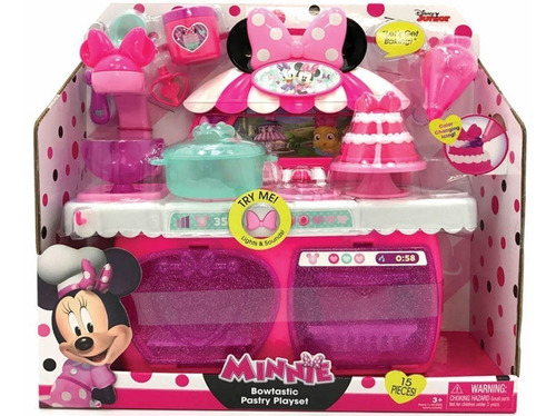bowtastic pastry playset minnie mouse original magic makers