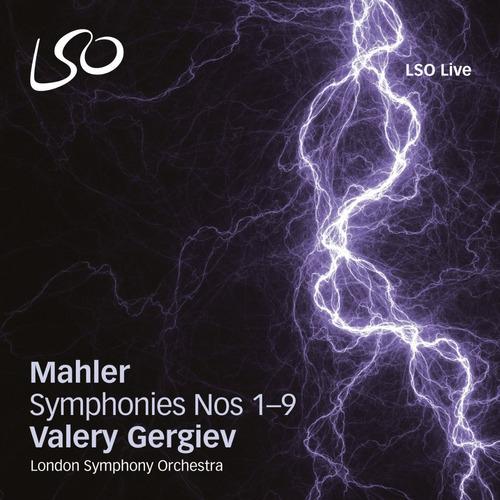 box 10 cds sacd mahler symphonies 1-9 valery gergiev