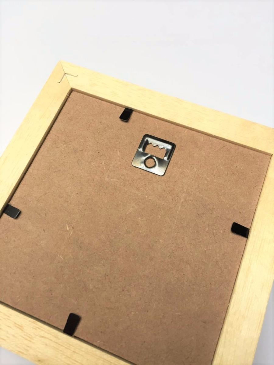 Box 10x10 Cajon Marupá Cuadro Portarretrato Vidrio Nordico - $ 80,00 ...