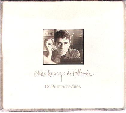box 3 cd's chico buarque de hollanda os primeiros anos