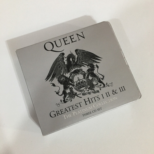 box 3 cd's queen greatest hits - importado, remaster (2011)