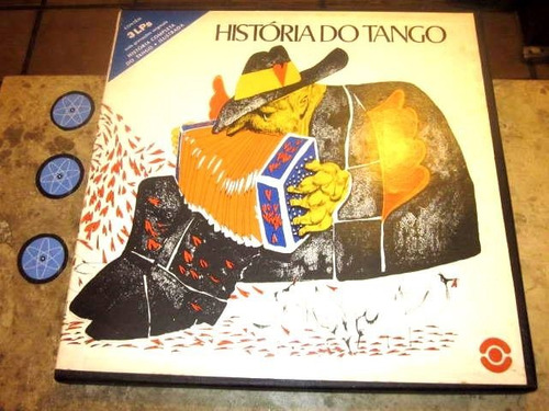 box 3 lp história tango (79) galvan carlos di sarli piazzola
