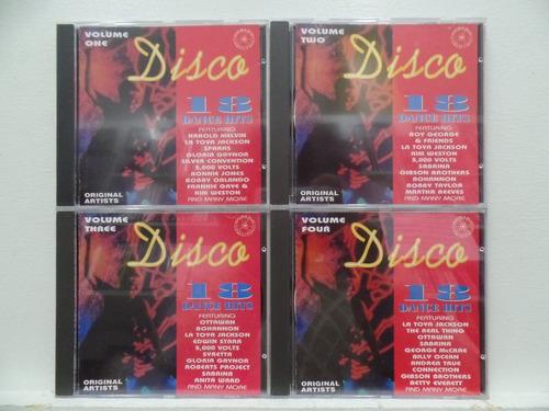 box 4 cd set - disco 72 dance hits (importado)