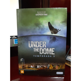Box 4 Dvds Under The Dome 3° Temporada
