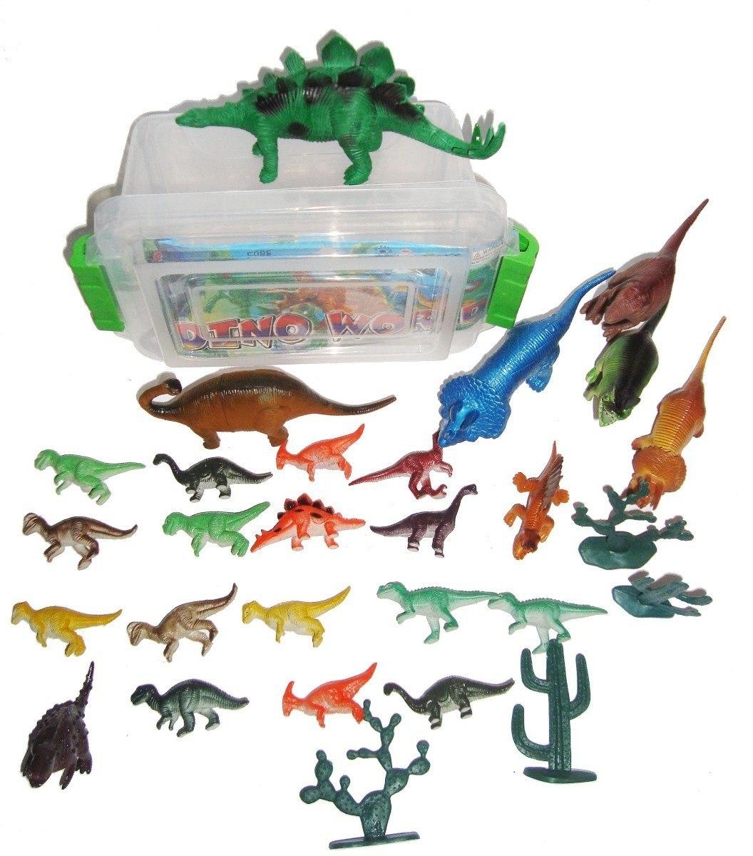 262ce60f73 Box 40 Dinossauros Dinossauro Jurrasic World - R$ 200,00 em Mercado ...