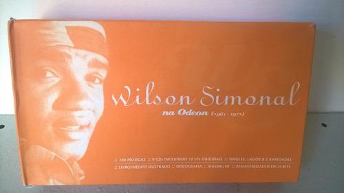 box 9 cds+livro wilson simonal na odeon/semi novo frete grát