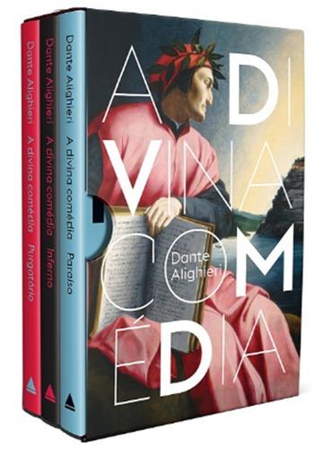 box a divina comédia - 3 livros - capa dura