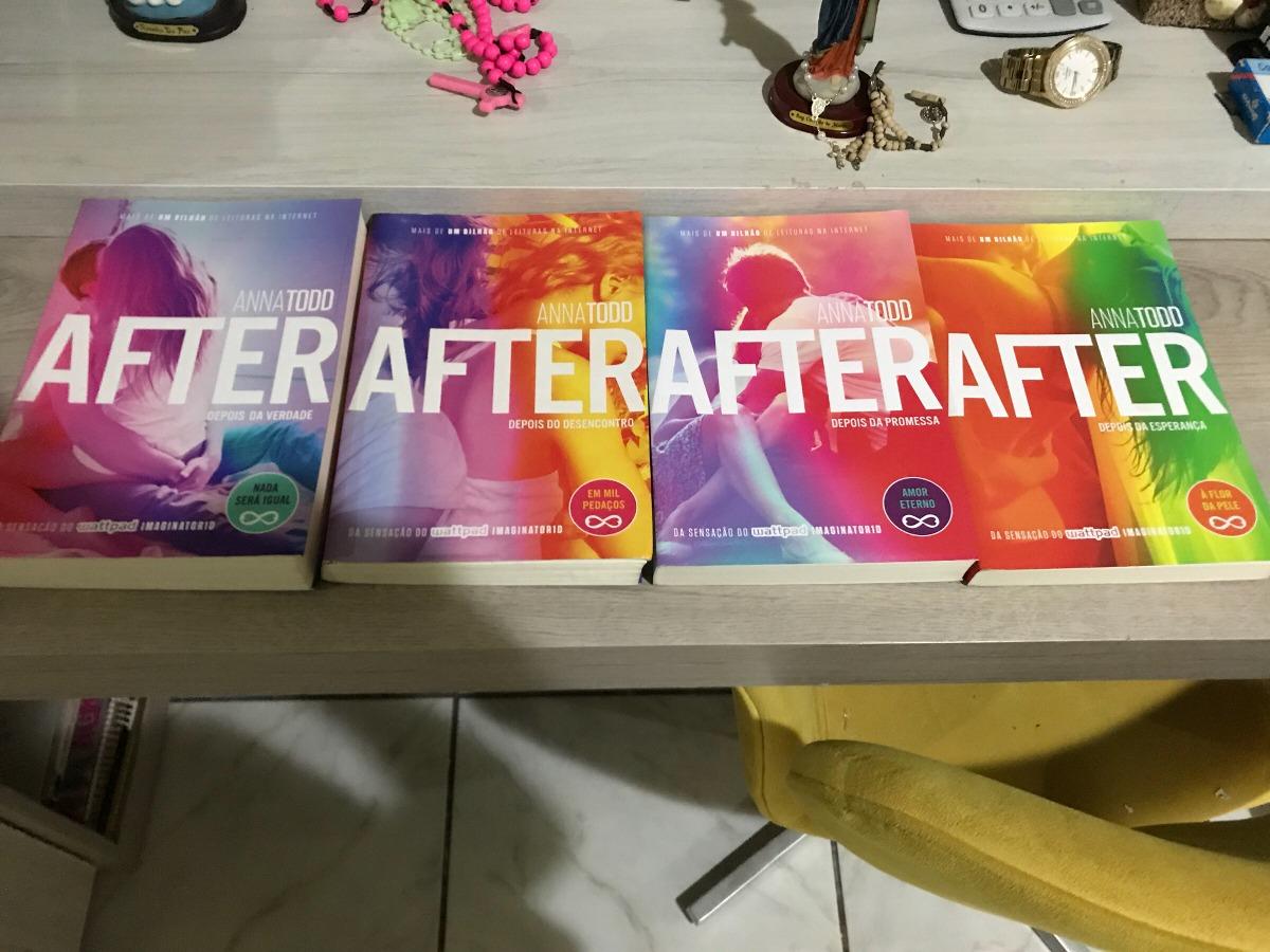 Box After 4 Livros Novos