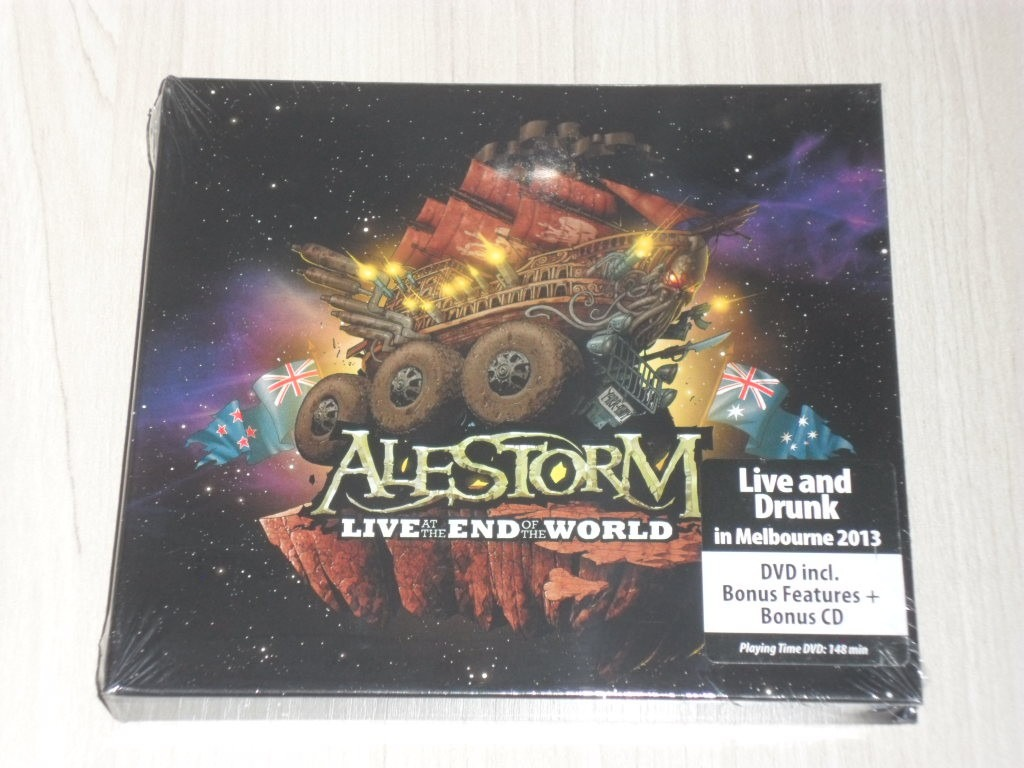 Box Alestorm - Live At The End Of The World 2013 (dvd + Cd)