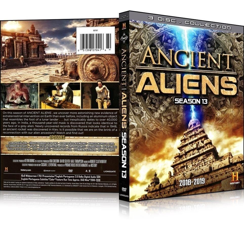 Box Alienígenas Do Passado 13ª Temporada [ 15 Eps  ] 3 Dvd's