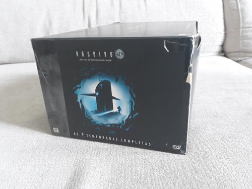 box arquivo-x completo (9 temporadas)