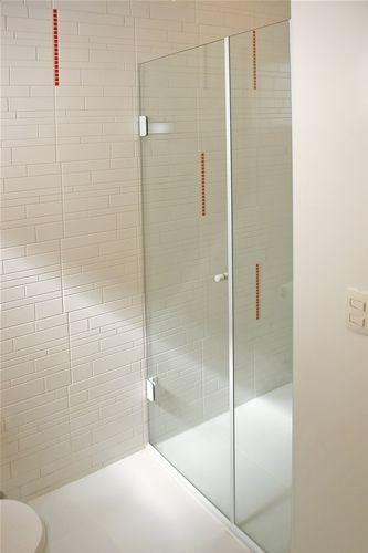 Box Banheiro Em Vidro Temperado 8mm Continental Guarulhos  R$ 210,00 em Merc -> Porta Para Banheiro Pequeno Mercado Livre