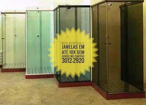 27037e37efa Box Banheiro Vidro Incolor 8mm Temperado Blindex New Tem Rj - R  100 ...
