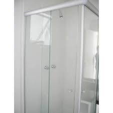box banheiro vidro incolor completo c/ kit fosco valor do m²