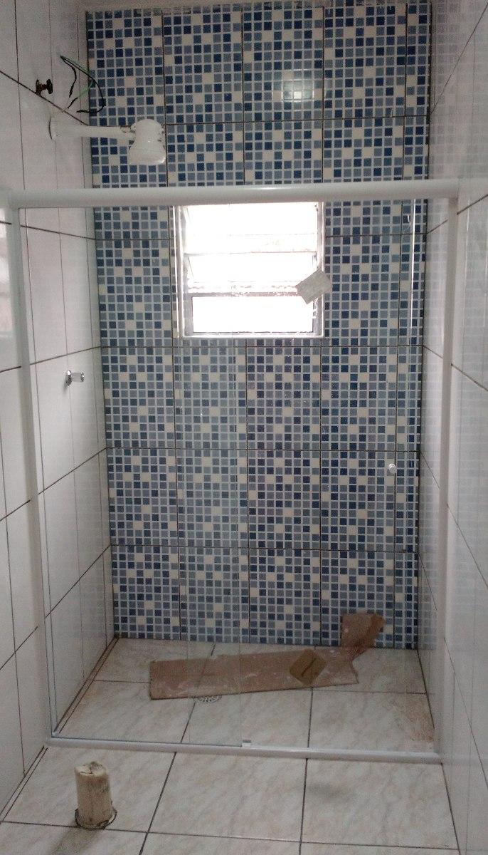 Box Banheiro, Vidro Temperado 8mm, Incolor, (tipo Blindex)  R$ 65,00 em Mer -> Porta Para Banheiro Pequeno Mercado Livre