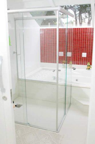 box banheiro vidro temperado 8mm parque res tremembé zn