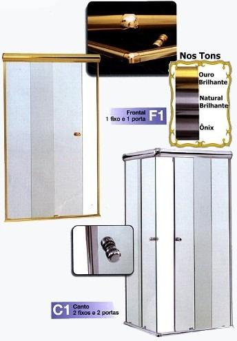 box banheiro vidro temperado incolor 8 mm  jaçanã