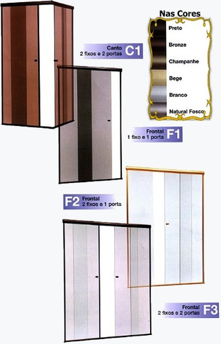 box banheiro vidro temperado incolor 8 mm mooca