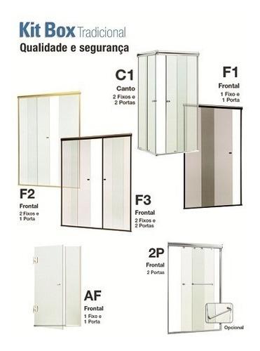 box banheiro vidro temperado incolor 8mm alto da boa vista