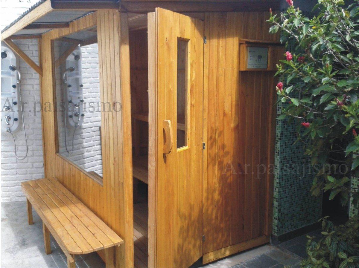 Como hacer una sauna trendy construir una sauna en casa - Como hacer una sauna ...