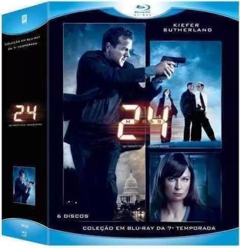 box blu-ray 24 horas 7º temporada original dublado 6 discos