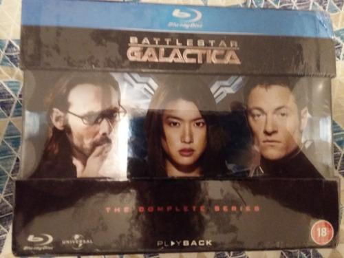 box blu ray battlestar galactica a série completa 20 discos