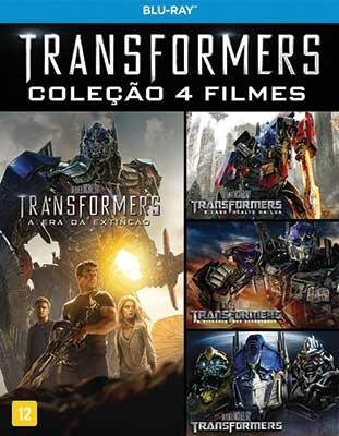 box blu-ray transformers quadrilogia