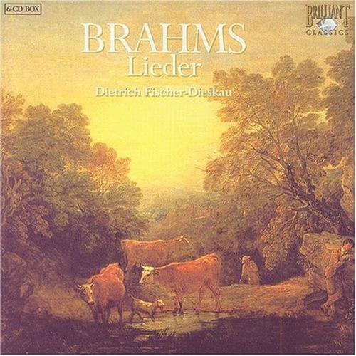 box brahms  lieder: fischer-dieskau (6 cd) daniel barenboim