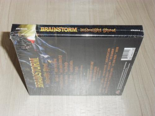 box brainstorm - midnight ghost 2018 (alemão digibook + dvd)