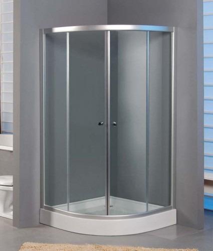 box cabina de ducha x mampara cristal puertas corredizas