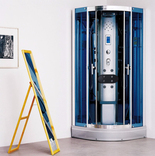 box cabina de ducha completa aloha 418 90x90 con vapor ozono