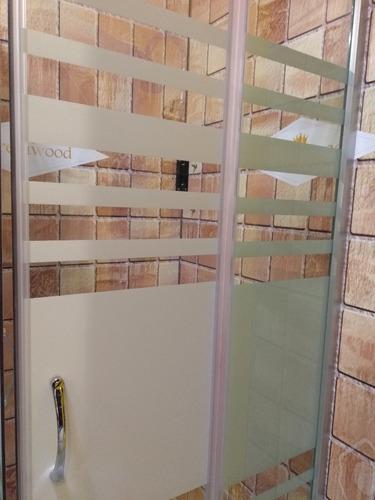 box cabina de ducha cuadrada 80x80 vidrio 5mm + receptáculo