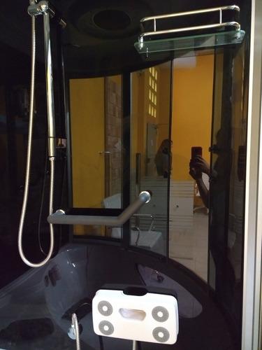 box cabina de ducha c/vapor / o3 s606b 150x150x230 baño