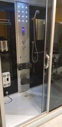 box cabina ducha escocesa 150x90x220 modelo - 8218