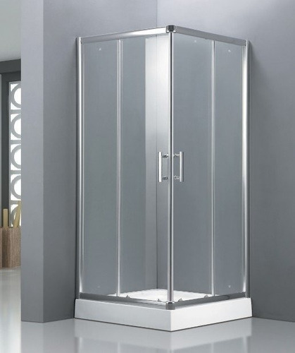 box cabina ducha recto 90x90 con base+receptaculo oferta
