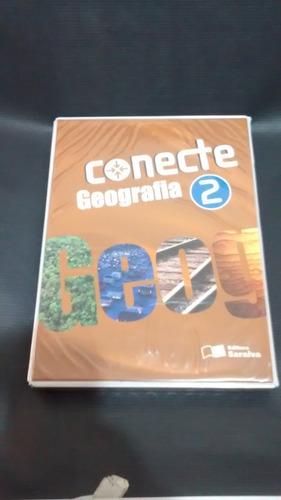 box - caixa conecte geografia 2 - 3 livros