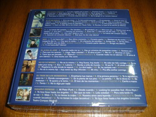 box cd alejandro sanz / contiene 8 cds (nuevo y sellado)