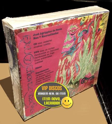 box cd dvd josé agrippino de paula exu 7 encruzilhadas novo