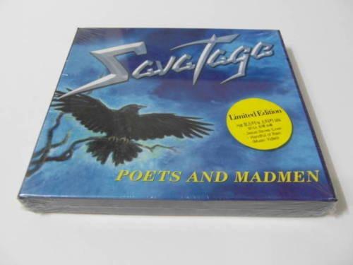 box cd savatage - poets and madmen edição limitada (novo)