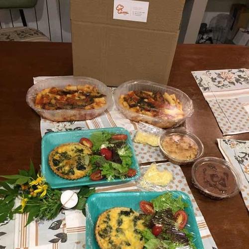 box cena o almuerzo para 2 personas ideal regalo cumpleaños