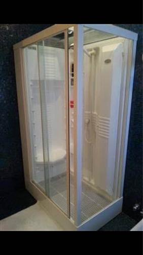 box chuveiro+ sauna + massagem turca jacuzzi