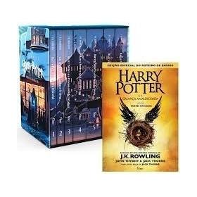 Box Coleção Harry Potter + A Criança Amaldiçoada Brochura