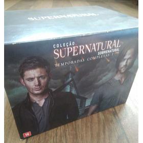 Box Coleção Temp. Completa Supernatural/1 A 9 § Med5