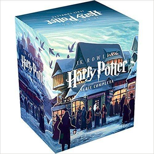box coleção harry potter  7 livros j.k. rowling frete gratis