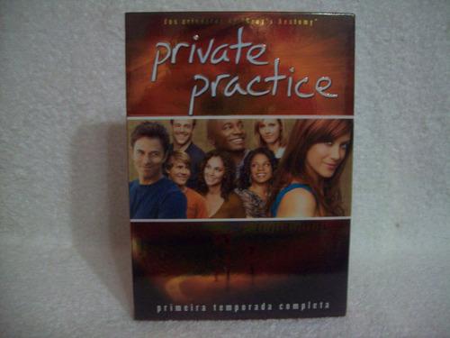 box com 03 dvds private practice- 1ª temporada completa