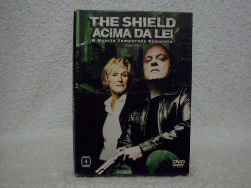 box com 04 dvds the shield- acima da lei- 4ª temporada
