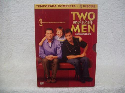 box com 04 dvds two and a half men- 1ª temporada completa